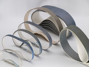 Diamond Sanding Abrasive Belts for Thermal Spraying Coatings
