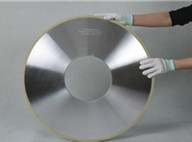 The vitrified diamond grinding wheel used in thermal spraying coating